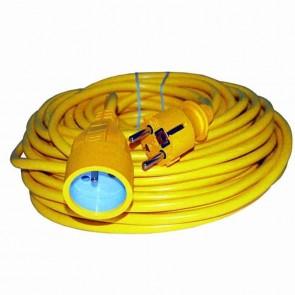 Rallonge électrique PVC - Longueur: 40 m - 3 × 1,5mm2
