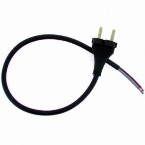 Cordon électrique PVC 2x1,5mm2 Longueur: 0.50m ( COR200 )