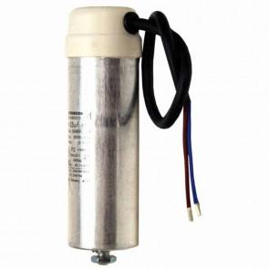 Condensateurs universels métalliques - Puissance (µF) : 16 - Ø (mm) : 40 - Hauteur (mm) :  78/98