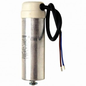 Condensateurs universels métalliques - Puissance (µF) : 60 - Ø (mm) : 50 - Hauteur (mm) :  143/165