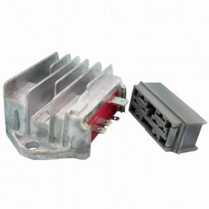 Régulateur de tension 6 broches adaptable pour LOMBARDINI. Remplace origine: 7362-298