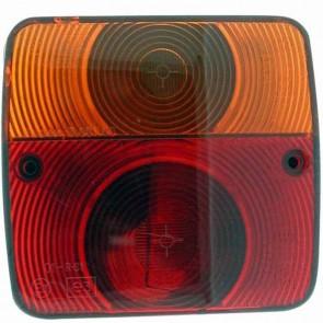 Feu arrière gauche adaptable - Longueur: 105mm - Hauteur: 95mm
