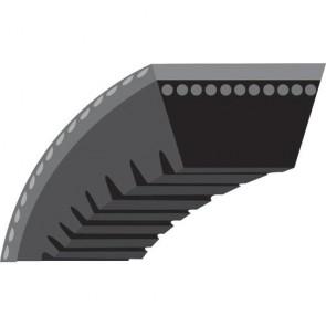 """Courroie trapézoïdale crantée pour Tondeuses autotractées ARIENS Modèle 21'' Walk behinds - (section 3/8"""", L: 32 1/4"""")- N° origine: 72171"""