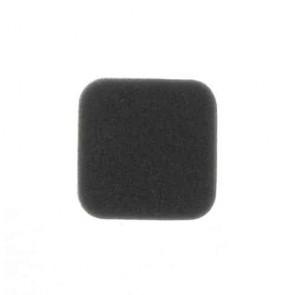 Filtre à air adaptable pour OLEO MAC modèles B40S, 727, 733, 740, 440 et 433 - L: 54mm, l: 54mm, H: 16mm. Remplace origine: 72700040