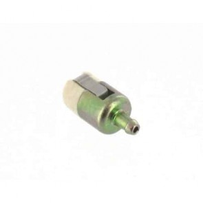 Crépine adaptable sur WALBRO pour moteurs jusque 33 cc - L: 30mm, Ø: 15mm, Ø: d'entrée: 4,76mm. Remplace origine: 125-527