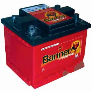 Batterie de démarrage TASHIMA 12v - 57Ah à 4 bornes coniques BANNER Multi-positions réversibles + et L: 243mm - l: 175mm - H: 175mm