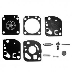 Kit réparation adaptable ZAMA pour modèle carburateur C1Q monté sur ECHO ES2100, ES2400, PB2100 STIHL et autres. Remplace origine: RB-59
