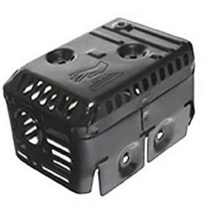 Grille de protection échappement adaptable pour HONDA GX140 & GX160 . Se monte sur notre échappement. 550-9627
