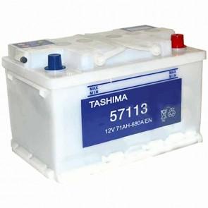 Batterie de démarrage TASHIMA 12v - 71Ah + à droite L: 278mm - l: 175mm - H: 175mm