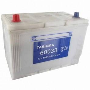 Batterie de démarrage TASHIMA 12v - 95Ah + à gauche L: 305mm - l: 176mm - H: 222mm - pour KUBOTA modèles M5700- DT- QM9000- DT- Q
