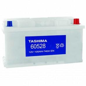 Batterie de démarrage TASHIMA 12v - 105Ah + à droite - pour KUBOTA