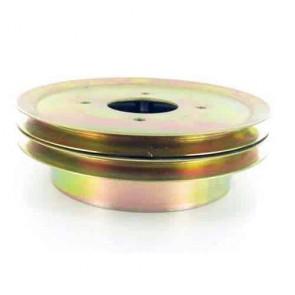 Poulie double avec tambour de frein adaptable pour SCAG - Ø: ext: 203,2mm, Ø int: 57,15mm. Remplace origine: 48992