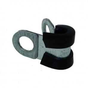 Collier de serrage caoutchouc de Ø: 14mm