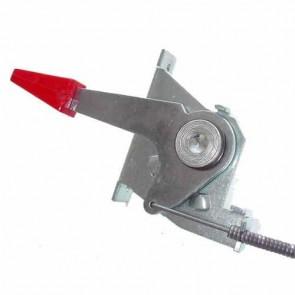 Commande d'accélération adaptable pour tondeuse SNAPPER à moteur TECUMSEH. Remplace origine: 12061 - L câble: 1470 mm ,L gaine: 1410 mm ,course: 37 mm