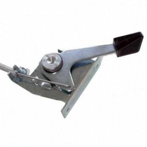 Commande d'accélération adaptable pour autoportée SNAPPER à moteur BRIGG & STRATTON 8 cv. Remplace origine: 11991 - L câble: 1330 mm ,L gaine: 1270 mm