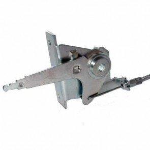 Commande d'accélération adaptable pour tondeuse MURRAY. Remplace origine: 21222 - L câble: 1600 mm ,L gaine: 1550 mm ,Course: 42 mm