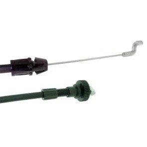 """Câble d'embrayage adaptable pour tondeuse 21"""" MTD. Remplace origine: 746-0713 - Longueur câble: 1448 mm Longueur gaine: 1346 mm"""