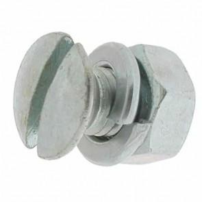 Vis de Lame avec écrou et rondelle pour BRILL et GARDENA - L: 16mm, Ø: 8mm