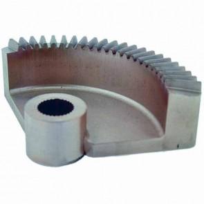 Secteur à dents adaptable pour AYP 100 degrés-alésage:  19,05mm. Remplace Origine:  136874