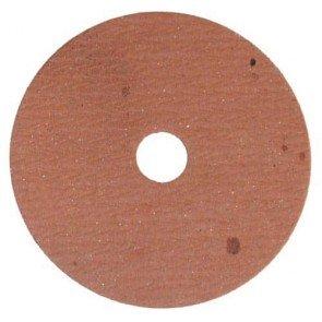 Rondelle de friction en fibre. Ø: 76mm, alésage: 9,5mm