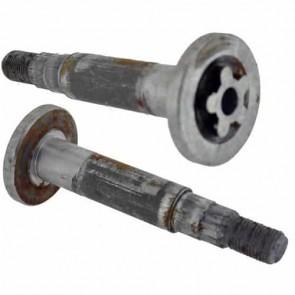 Axe pour palier de Lame - AYP - SEARS - ROPER - Longueur: 125mm - Se monte sur notre palier 6503765. Remplace origine: 13755