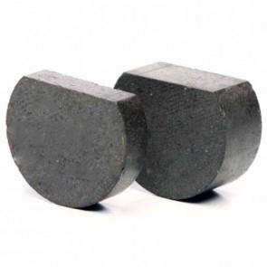 Lot de 2 plaquettes de frein avec méplat . Ø: 28mm Ep: 7 & 14mm. Remplace origine MURRAY: 776938