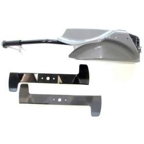 Kit obturateur Mulching d'origine CASTELGARDEN avec Lames pour modèle TC92 après de 2006. Remplace référence d'origine : 99900070/0