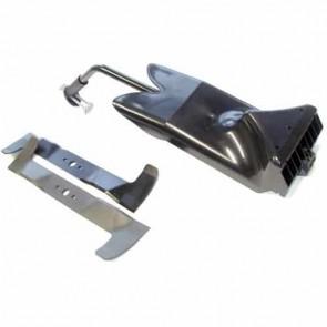 Kit obturateur Mulching d'origine CASTELGARDEN avec Lames pour modèle TC102 à partir de 2006. Remplace référence d'origine : 99900073/0