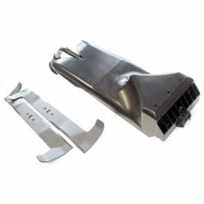 Kit obturateur avec Lames origine CASTELGARDEN pour modèle TC122 à partir de 2006. Remplace origine: 99900076/0