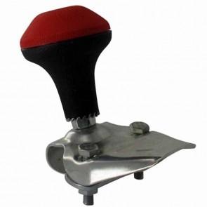 Boule de manœuvre adaptable pour volant de direction à empreinte ronde