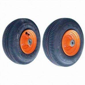 Roue complète avec roulement pour tondeuse SCAG - Ø int: 15,87mm 410 x 350 x 5 (4 plis). Remplace origine: 48537