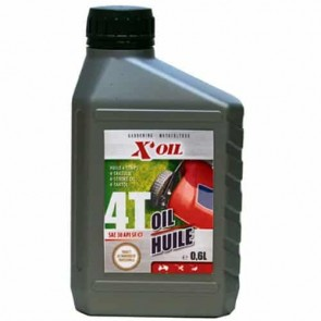 Huile Moteur 4 temps SAE30 X'OIL (API SF/CC) - 600ml
