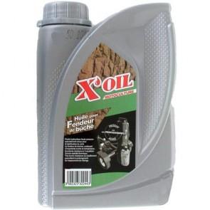 Huile Hydraulique X'OIL HV ISO 46 - HLP46 - ZS46 en bidon de 5 litres pour fendeur de bûche