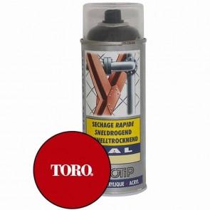 Peinture rouge TORO, aérosol 400 ML