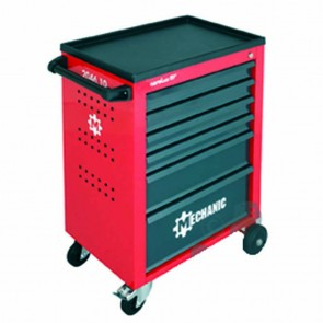 Servante d'atelier avec 6 tiroirs, charge utile de 210 kg - sans contenu - dimensions 910mm x 628mm x 418mm