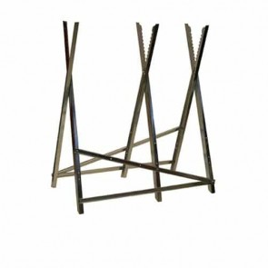 Chevalet de tronçonnage en métal 3 tréteaux Longueur: 76cm Longueur: 76cm H:77cm ( CT300 )