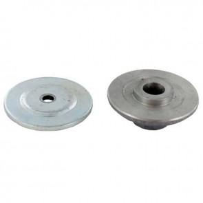 Moyeu et rondelle de centrage pour affuteuse OZAKI XLP950. Repères 25 et 26.
