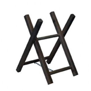 Chevalet de tronçonnage en bois (hêtre et/ou frêne) 2 tréteaux