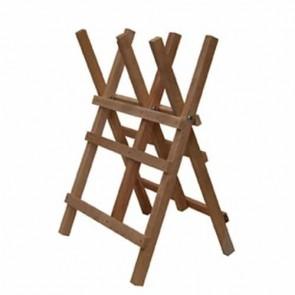 Chevalet de tronçonnage en bois (hêtre et/ou frêne) 3 tréteaux grand modèle renforcée