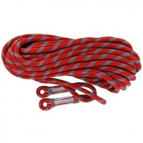 Ligne d'ancrage vertical flexible en polyamide toronnée (corde de rappel semi-statique). L:20 m. Ø: 11 mm. EN1891