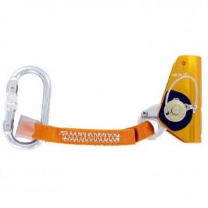 Anti-chute pour corde toronnée de diamètre 11-12 mm. Montage sur n'importe quel point de la corde. CE EN353-2
