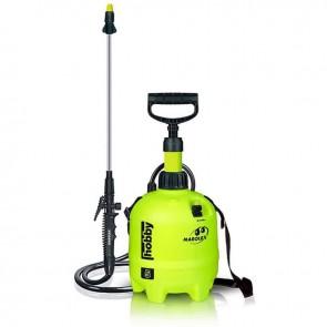 Pulvérisateur à pression MAROLEX®, modèle HOBBY 5, d'une capacité de 5 litres pour une pression de 4 bars. Hauteur 415mm.
