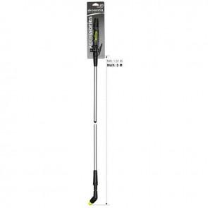 Lance télescopique aluminium MAROLEX réglable de 1,5 à 3 mètres avec poignée pour pulvérisateur.