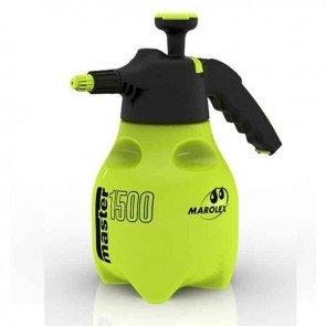 Vaporisateur à gâchette MAROLEX modèle MASTER ERGO 1500 , d'une capacité de 1,5 litres pour une pression de 4 bars. Pulvérisation dans toutes les positions et isolation du mécanisme des produits pulvérisés