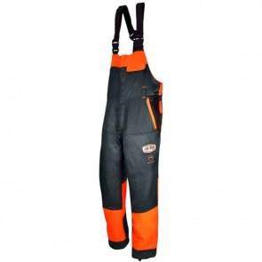 Salopette de bûcheronnage - Multi-poches - Norme CE EN381-5, Classe 1, type A - Taille XXL (54/56)