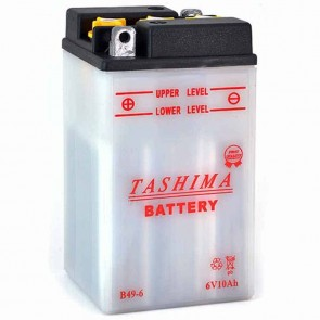 Batterie Plomb 6v 8Ah - L: 91 - l: 83 - H: 161mm + à gauche (livrée sans acide)