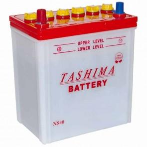 Batterie pour tondeuse autoportée 12v - 32Ah - L: 196 - l: 128 H: 224mm + à gauche - avec bornes étroites type japonaises (adaptable KUBOTA)