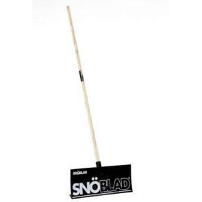 Lame chasse-neige / Pelle à neige en polypropylène de haute qualité Multi-usages SNOBLAD pour évacuer la neige, les feuilles ou l'eau. Dimensions du godet: 498 x 205 mm