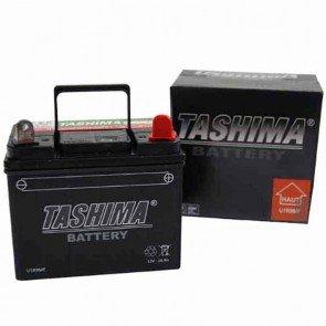 Batterie pour tondeuse autoportée 12v - chargée sans entretien 28Ah - L: 195 - l: 130 - H:185mm + à droite Remplace origine: U1R9