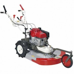 OREC SH71H - Tondeuse à gazon mulching / débroussailleuse - Moteur Honda GXV340 - 8,1 kW - 70 cm - Lame mulching - Vitesses: 3 avant + 1 arrière